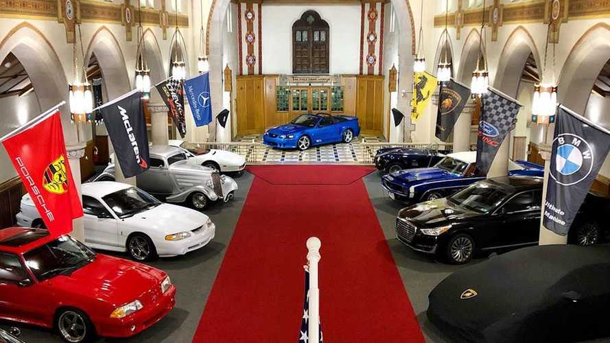 ¿Estamos ante uno de los mejores garajes del mundo? Sí, está en una iglesia