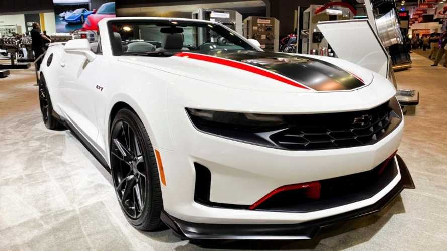 2021 Chevy Camaro Getting Red And Black Exterior Accent Packages