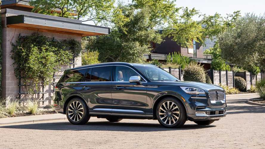Lincoln Aviator PHEV Rated At 21 Miles Of EPA Electric Range