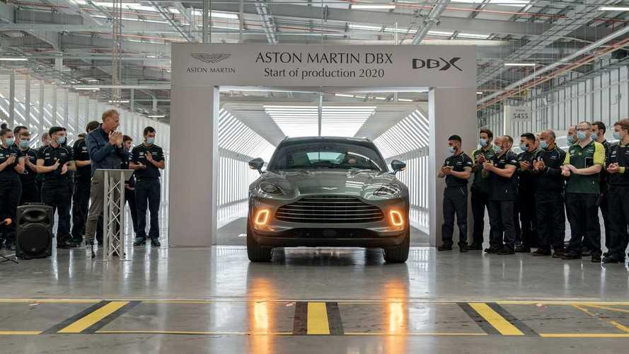 Aston Martin nihayet DBX üretimine start verdi