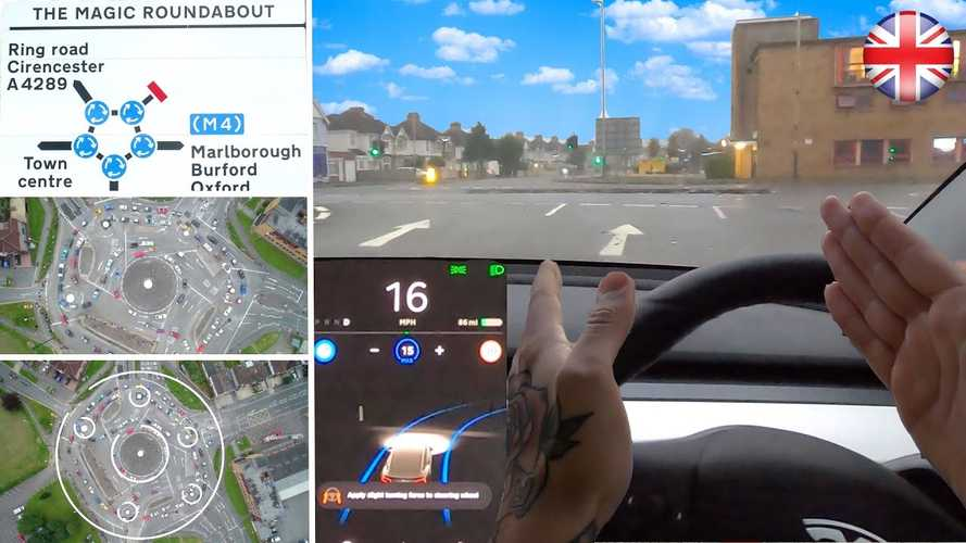 British Tesla Driver Warned Not To Test Full Self-Driving On UK Roads