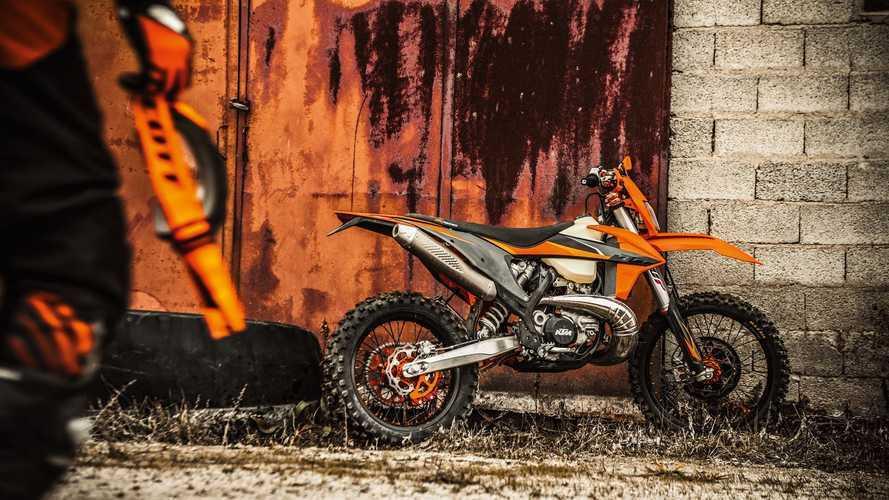 KTM presenta la gamma Enduro EXC 2021