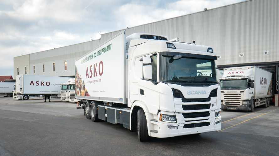 Scania e Asko inseme per l'elettrico sui camion