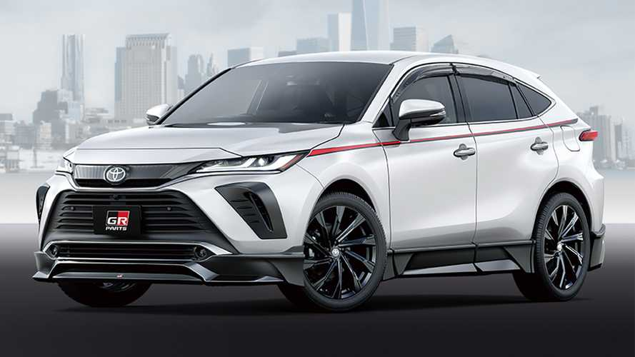 2021 Toyota Venza Goes Sporty With TRD Parts In Japan