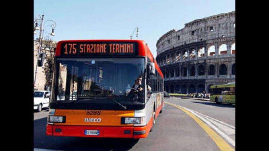 [Copertina] - Sciopero trasporti a Roma: l'8 gennaio 2013 fermi i bus