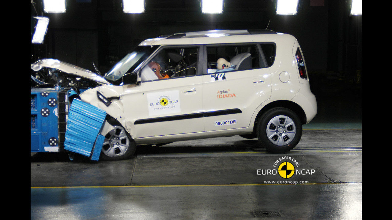 Crash Test Kia Soul