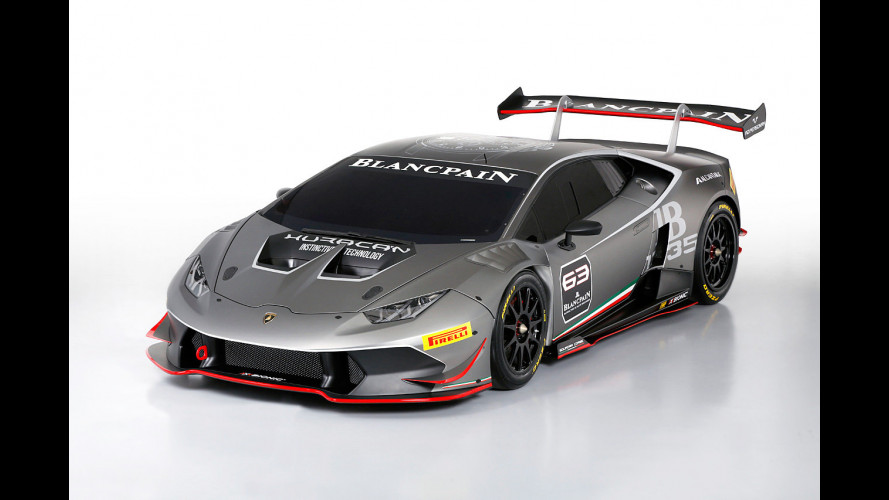 Lamborghini Huracan LP 620-2 Super Trofeo, 100% racing