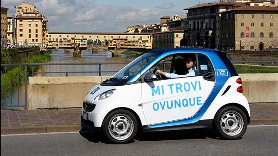 Car sharing, Firenze apre il centro storico