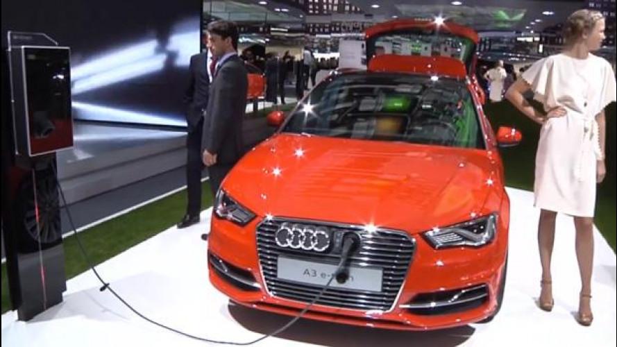 """Perché l'ibridizzazione di Audi inizia """"dal basso"""" con la nuova A3 e-tron"""