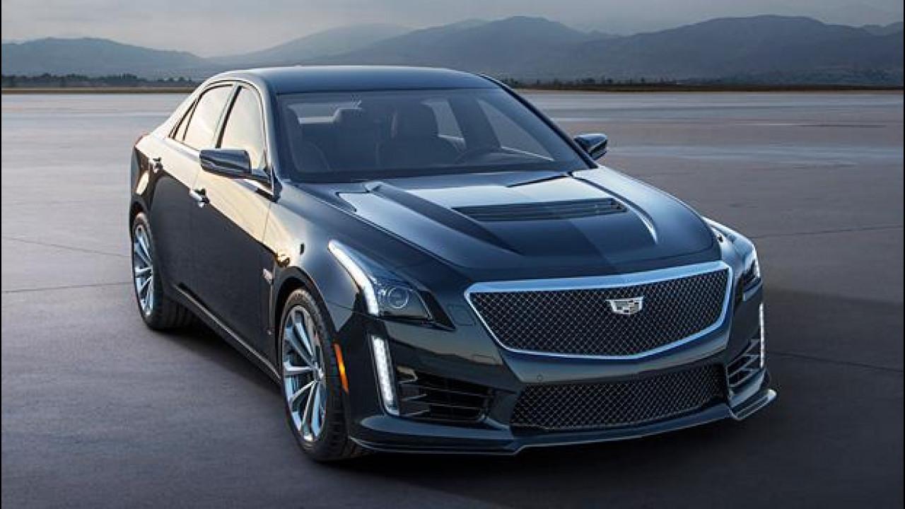 [Copertina] - Nuova Cadillac CTS-V, l'americana da 649 CV