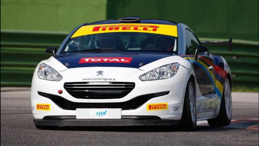 Peugeot RCZ Cup: video-prova a Imola!