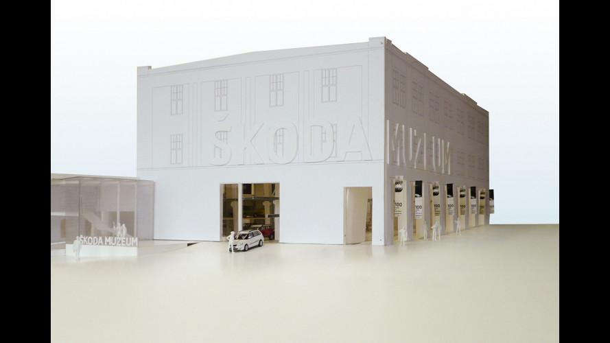 Anche Skoda avrà il suo maxi-museo