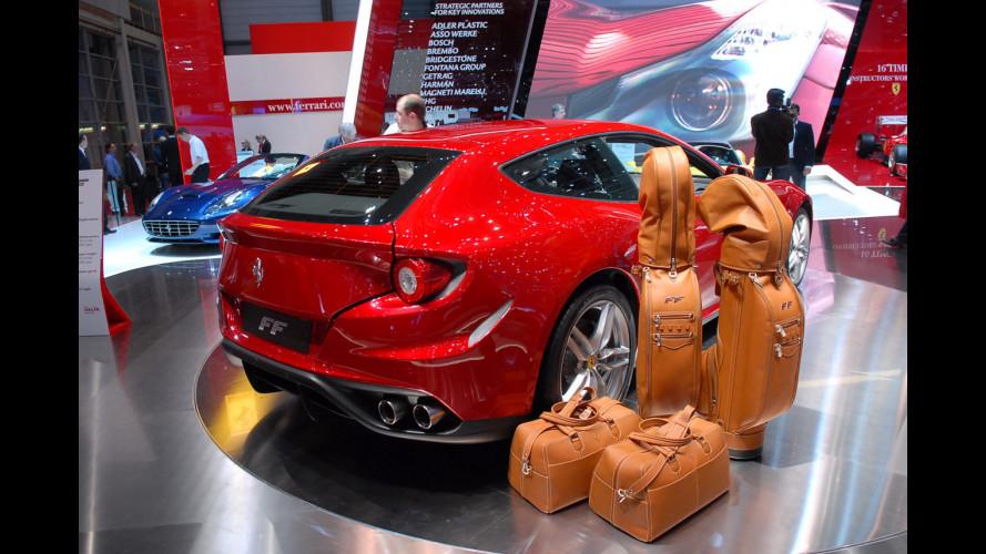 Ferrari FF, ma quanto è grande questo bagagliaio?