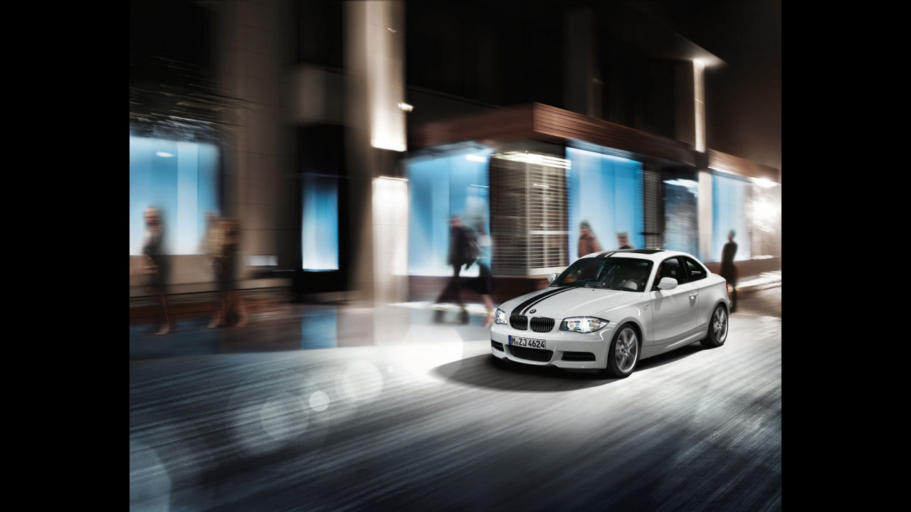 BMW Serie 1 Coupe con Sport Stripes