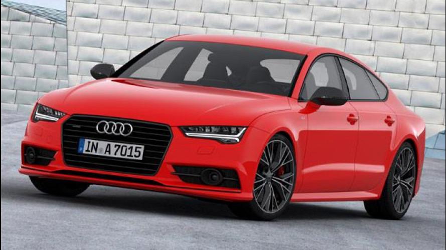 Audi A7 Sportback 3.0 TDI competition, ora con 326 CV