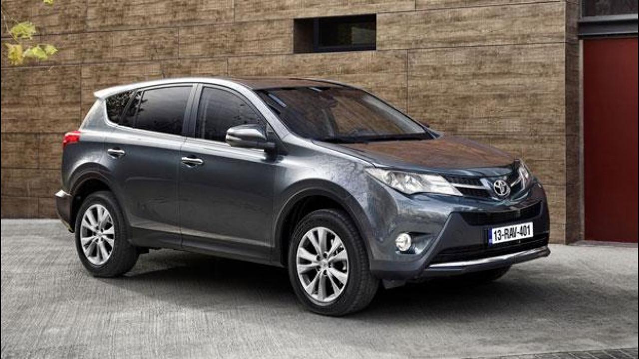 [Copertina] - Nuova Toyota Rav4, prezzi da 24.900 euro