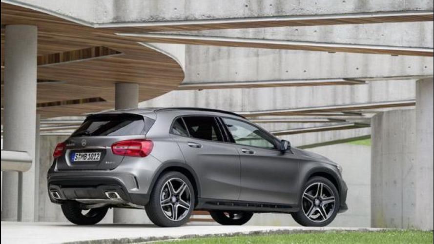 Mercedes GLA, fabbrica pronta grazie al successo della Classe A