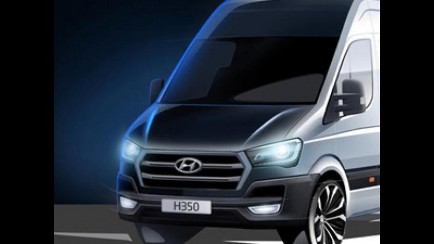 H350, così Hyundai entra nel mercato dei large van europei