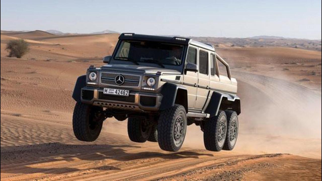 [Copertina] - Mercedes G63 AMG 6x6: è ora di aggredire le dune