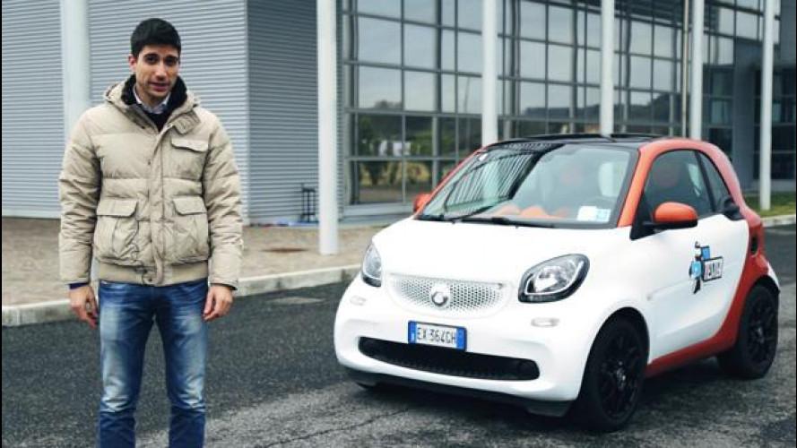 La smart fortwo secondo lo YouTester Alessio Frassinetti