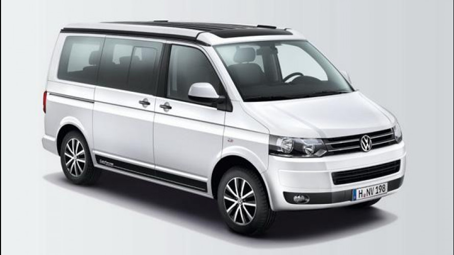 Volkswagen California Edition, quello sfizioso