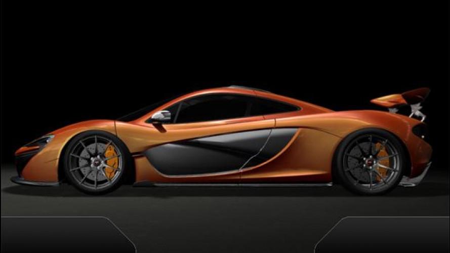 Al posto di guida della McLaren P1