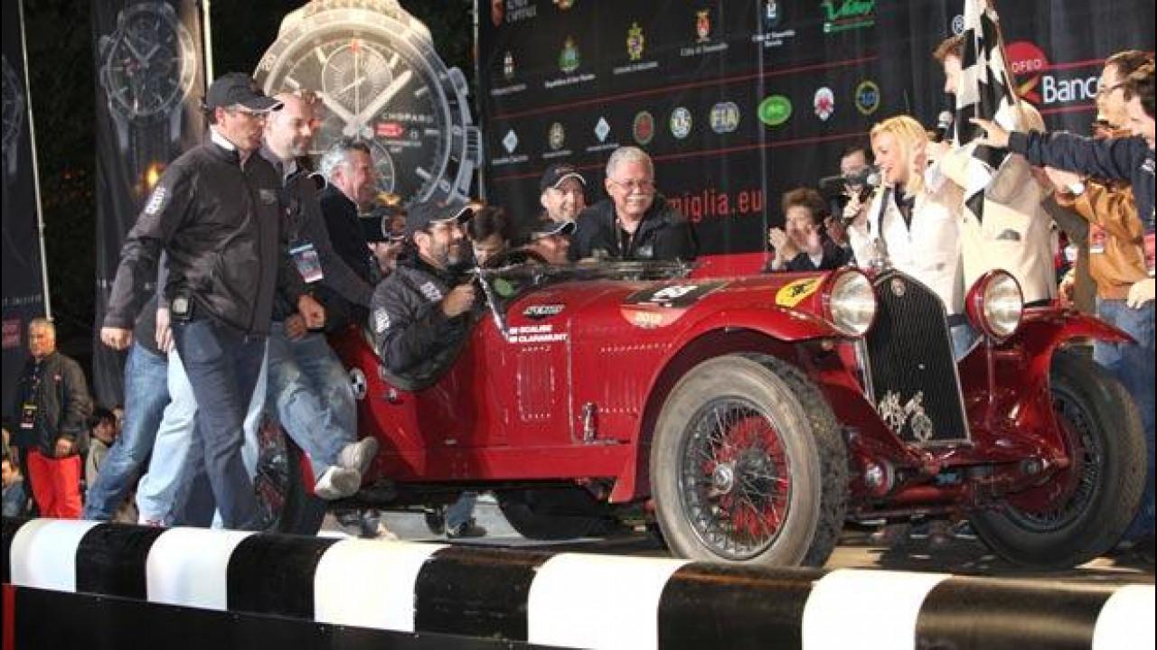 [Copertina] - Mille Miglia 2012: vincono su Alfa Scalise e Claramunt