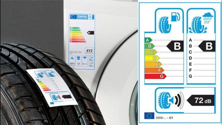 Etichetta pneumatici: dopo un anno, ecco i risultati