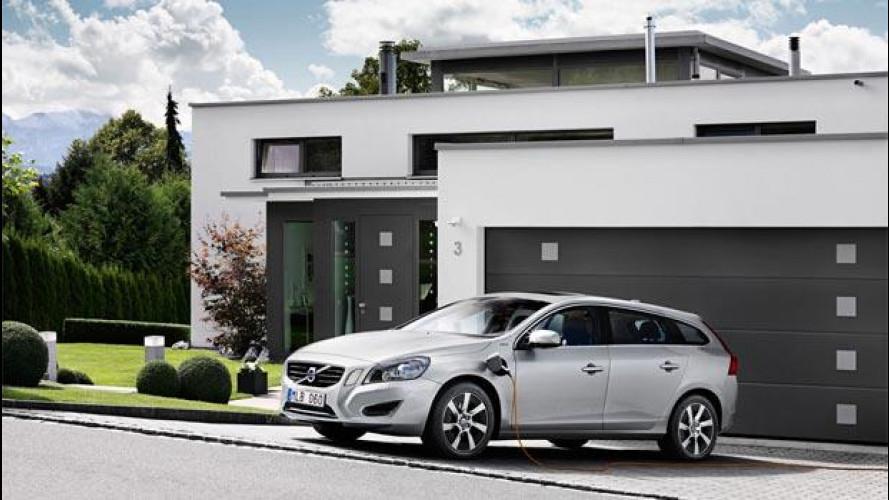 Volvo V60 Plug-in Hybrid, a grande richiesta raddoppia la produzione