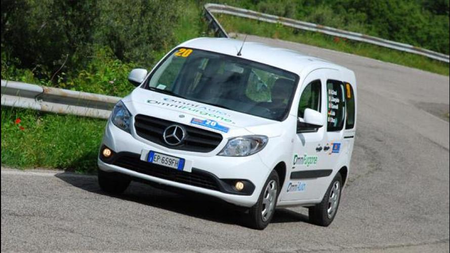 La 25 Ore di Magione di OmniAuto.it e i 25 km/l del Mercedes Citan