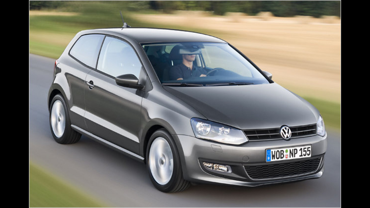 VW Polo 1.6 TDI BlueMotion Technology Trendline