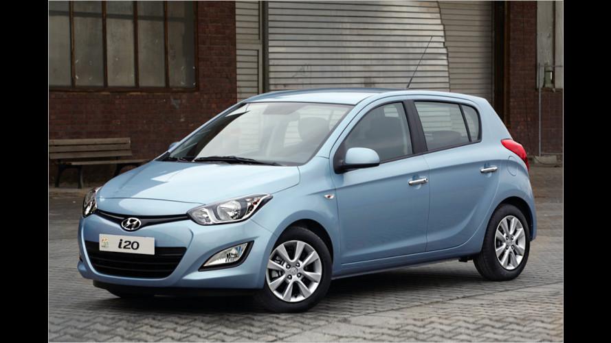 Hyundai i20: Frisch gemacht und Durst gedämpft
