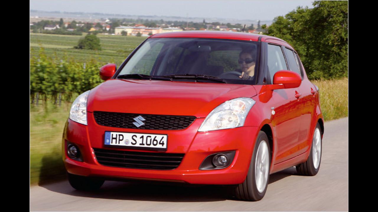 Suzuki: Swift, Splash und SX4 aus Ungarn