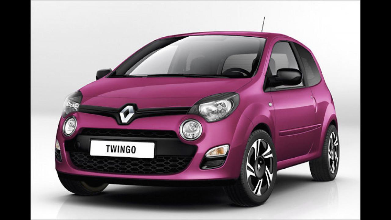 Facelift für den Twingo