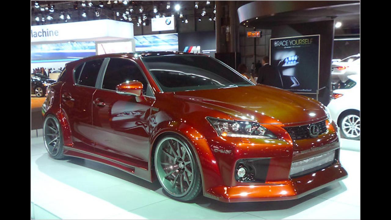 Lexus CT 200h Hybrid Design Project