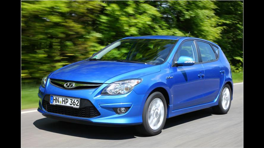 Facelift für den i30: Hyundai überarbeitet Kompaktmodell