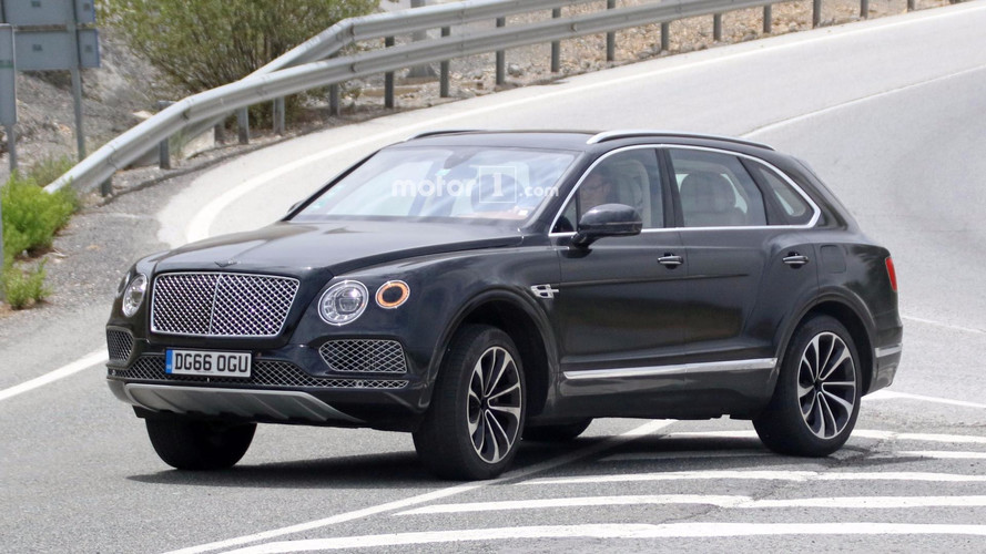 Bentley Bentayga Plug-In Hybrid Spied For The First Time
