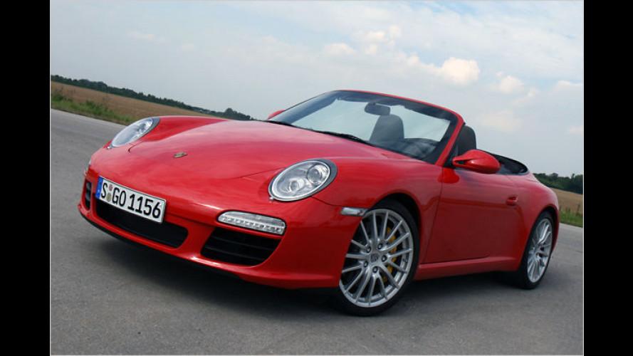 Offenherzig: Das Porsche 911 Carrera S Cabriolet im Test