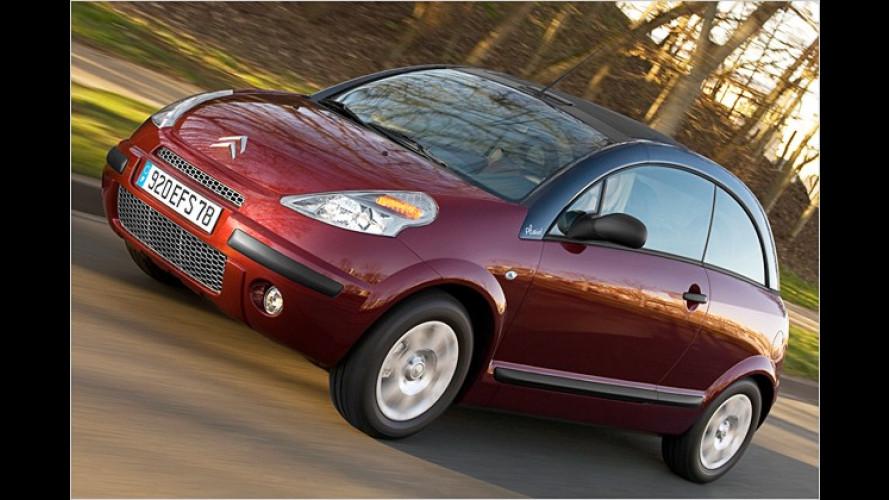 Citroën: Behutsame Modellpflege für den C3 Pluriel