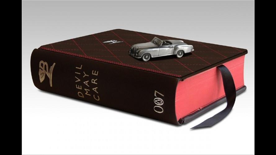 Extrem exklusiv: Bentley designt neues James-Bond-Buch