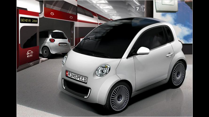Rinspeed zeigt Elektroauto-Konzept in Genf