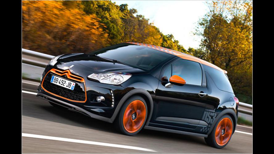 Unauffällig geht anders: Citroën DS3 Racing im Test