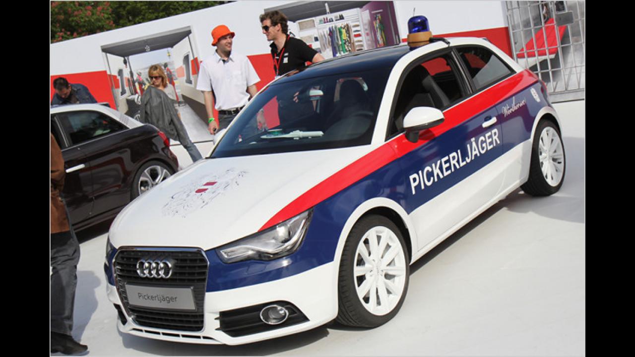 Der Pickerljäger-A1: Eine augenzwinkernde Hommage an die österreichische Polizei