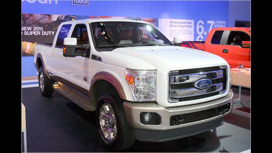 Über-Arbeiter Super Duty: Neuauflage für den Ford-Pick-up