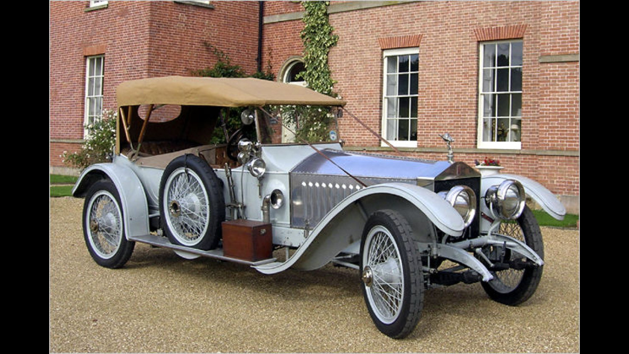 Dreamcars: Rolls-Royce Silver Ghost London-Edinburgh Tourer