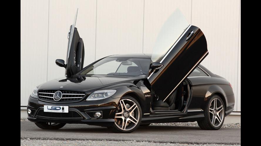 Abgehoben: LSD verleiht der CL-Klasse von Mercedes Flügel