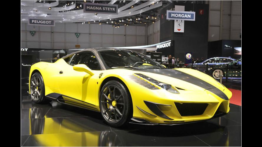 Noch mehr Karbon: Ferrari 458 Italia als Mansory Siracusa