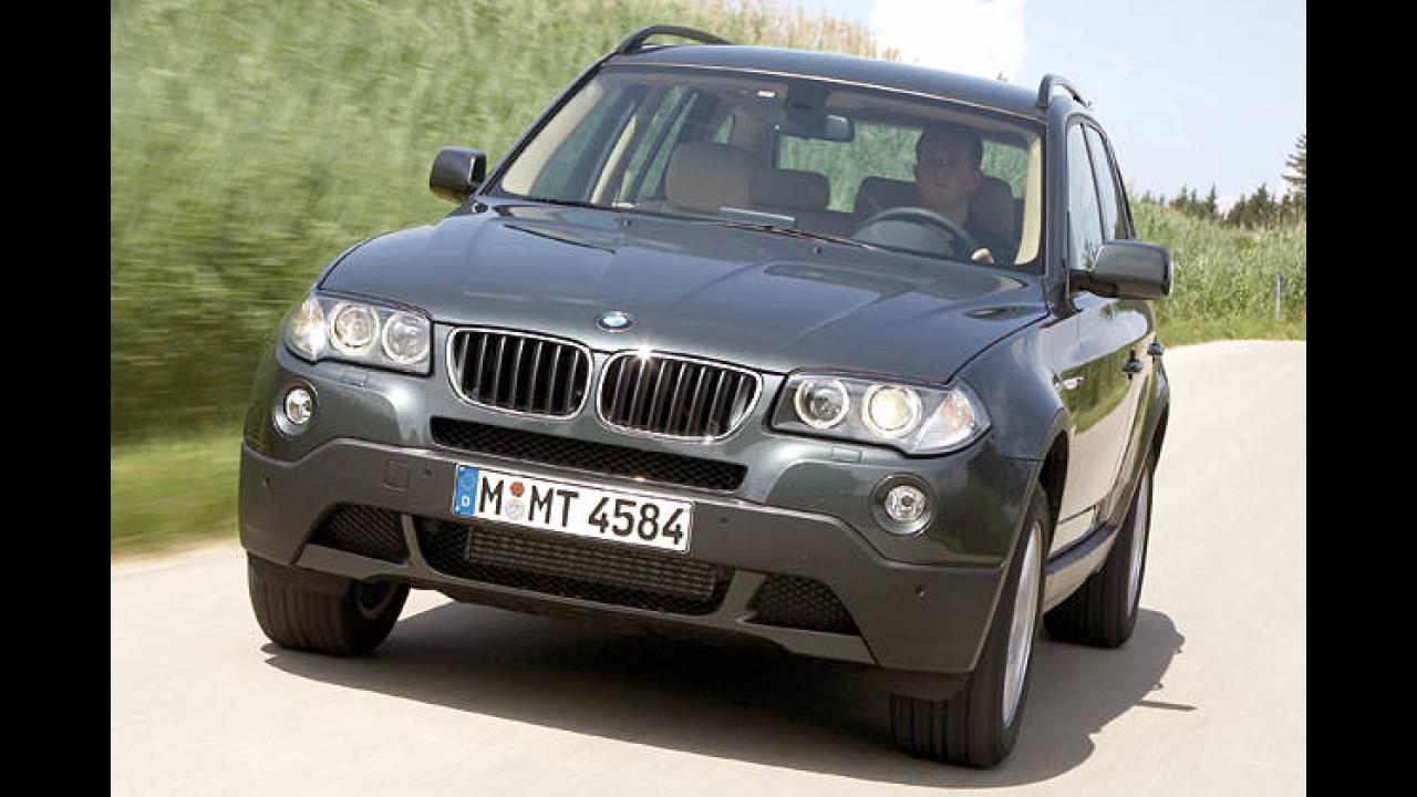 BMW X3 2.0d DPF