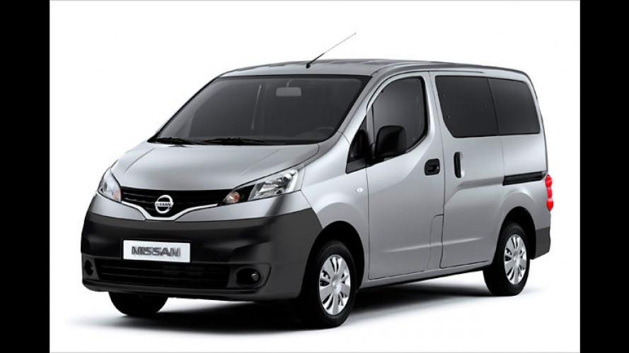 Nissan NV200: Vielseitiger Kleintransporter mit Familiensinn