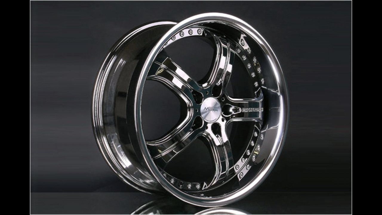 MEC xtreme III Black Chrome Edition